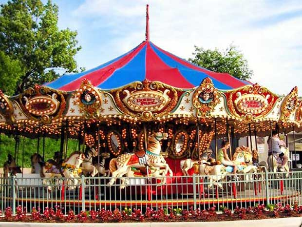 Fairground carousels for sale