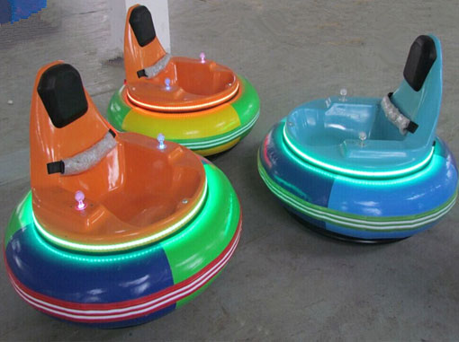 Inflatable bumper cars rides