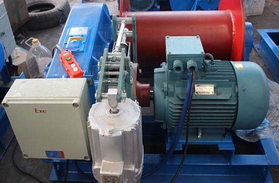 50 tons winches