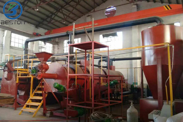 bamboo carbonization machine