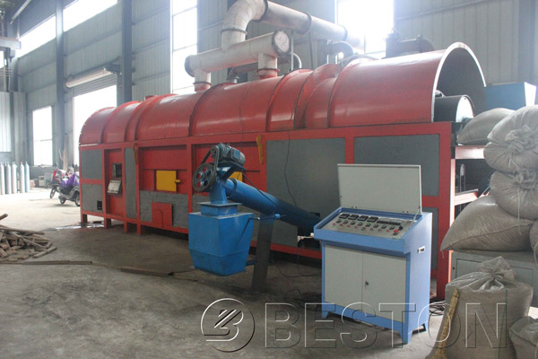 Beston Charcoal Production Equipment