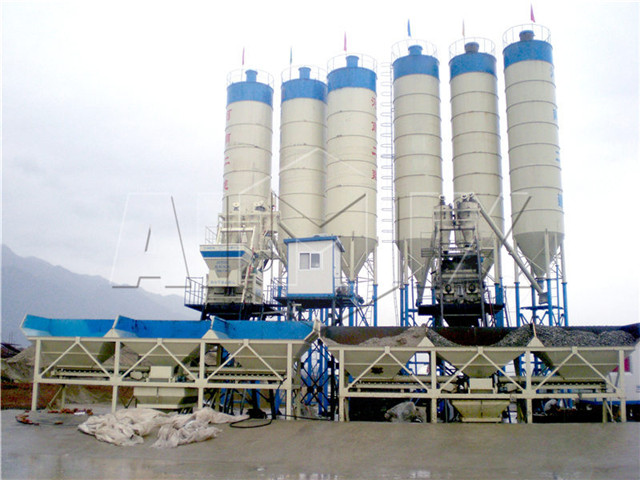 China's Concrete Batching Plant cost