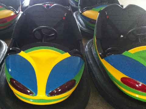 Electric Bumper Car Rides