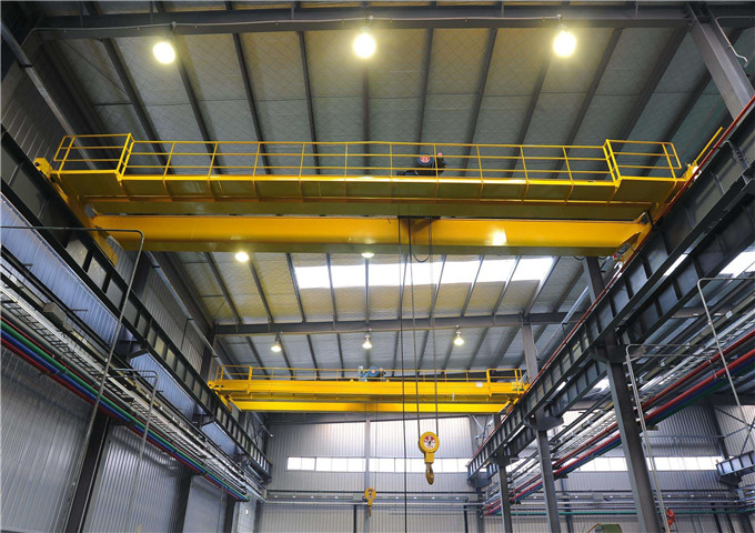 Choose electric double girder overhead crane