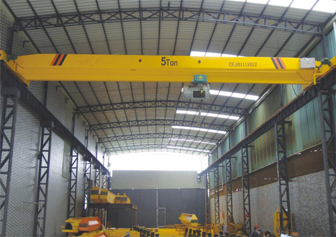 Buy electric single girder overhead crane