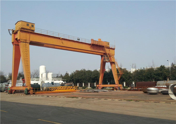 Order electric gantry crane 20 t