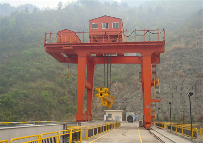 20 ton double girder gantry crane for sale