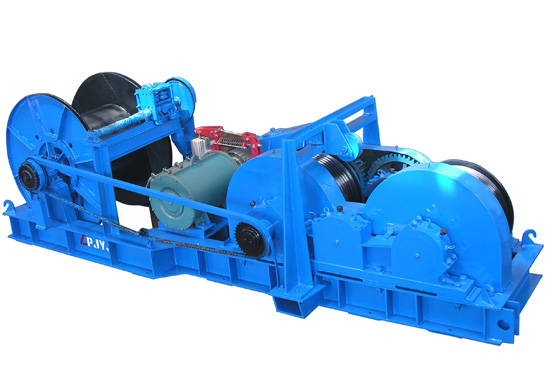Electric Friction Winch Supplier